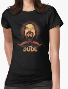 The Dude The big Lebowski Womens Fitted T-Shirt