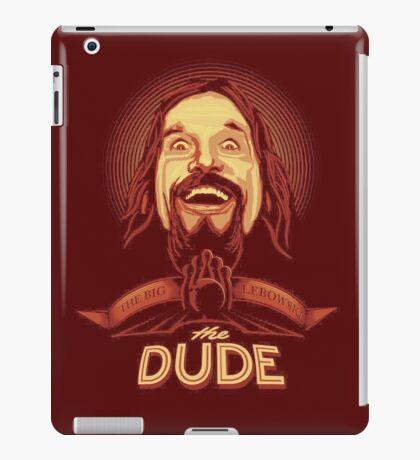 The Dude The big Lebowski iPad Case/Skin