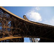 Eifel tower Paris Photographic Print