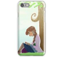 MEPOC Bilbo Reading iPhone Case/Skin
