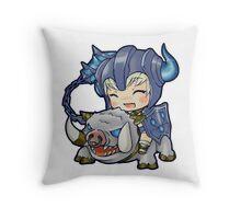 Sejuani Chibi Throw Pillow