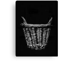 Basket Work Canvas Print