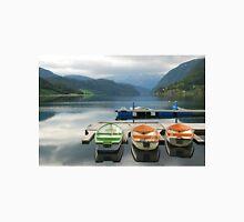 Rowboats in Ulvik - Norway Unisex T-Shirt