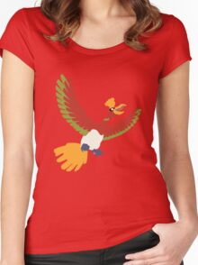 Lord of the skies. Women's Fitted Scoop T-Shirt