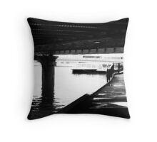 Girders Throw Pillow