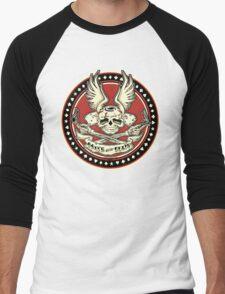 Brush With Death Shirt Men's Baseball ¾ T-Shirt