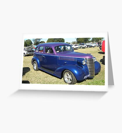 Chevrolet Hot Rod. Greeting Card