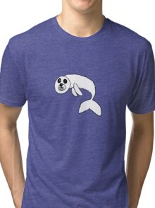 cute seal pup Tri-blend T-Shirt