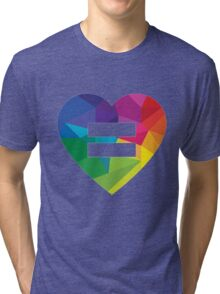 Marraige Equality Heart Tri-blend T-Shirt