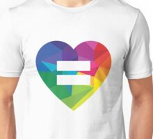 Marraige Equality Heart Unisex T-Shirt