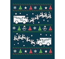 Postal Worker Christmas Photographic Print