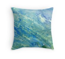 Under the Sea Abstract Throw Pillow