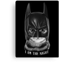 I AM THE NIGHT. Canvas Print