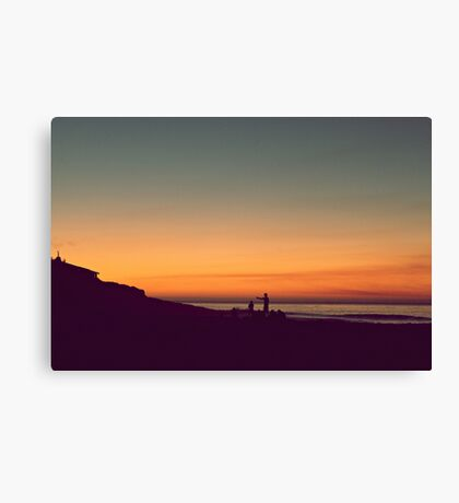 we drifted upon the sighs of summer Canvas Print
