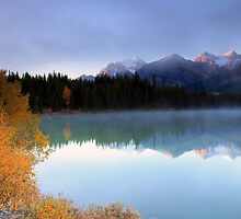 Herbert Lake Sunrise by Cameron B