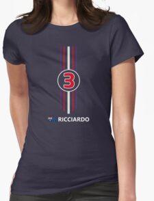 F1 2014 - #3 Ricciardo Womens Fitted T-Shirt