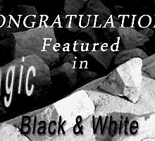 Featured in the Magic of Black and White banner by Baina Masquelier