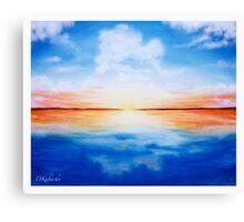 Imitate Canvas Print