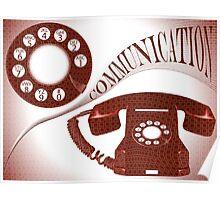 Communication composition Poster