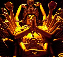 buddha statue by milena boeva