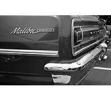 Chevy Malbu Chevelle Photographic Print