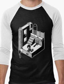 モンスター Men's Baseball ¾ T-Shirt