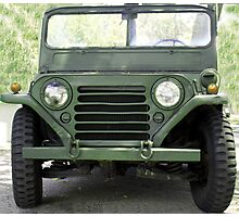 JEEP-The GI's Best Friend Photographic Print