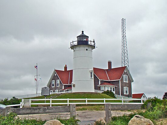 Nobska Point Lighthouse - Woods Hole MA by MotherNature