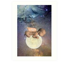 Mother of the Firmament with her Infant Luna Art Print