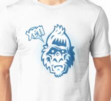 Speaking Yeti Head Unisex T-Shirt