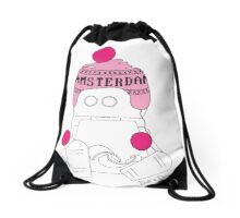 Robots in Disguises - Amsterdam Bot Drawstring Bag