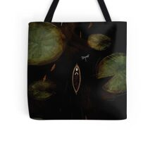 black lake Tote Bag