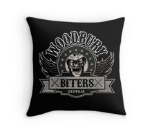 Woodbury Biters Throw Pillow