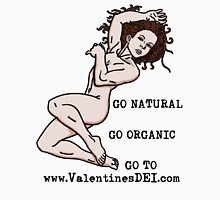 Go Natural Womens Fitted T-Shirt