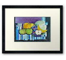FRUIT FANTASY Framed Print