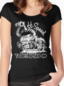 Hi Speed Weirdo Women's Fitted Scoop T-Shirt