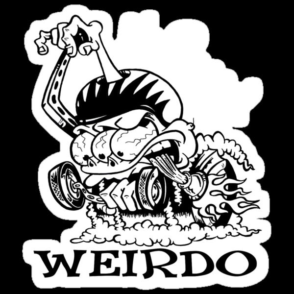 Hi Speed Weirdo by Joey Finz