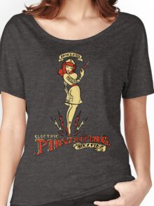 Painless Electric Pinstriping Women's Relaxed Fit T-Shirt