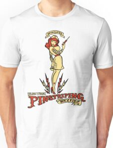 Painless Electric Pinstriping Unisex T-Shirt