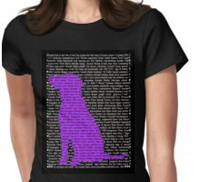 """The Year Of The Dog"" Clothing Womens Fitted T-Shirt"