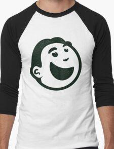 Fanfare Retro Guy Men's Baseball ¾ T-Shirt