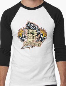 Rockabilly Rebel Men's Baseball ¾ T-Shirt