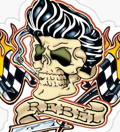 Rockabilly Rebel Sticker