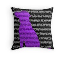 """The Year Of The Dog""  Throw Pillow"