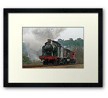 5619 Steam Locomotive Framed Print