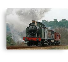 5619 Steam Locomotive Canvas Print