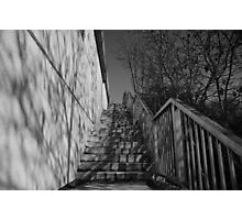 Concrete Steps - Windsor Photographic Print