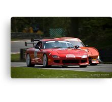 Britcar Racing Canvas Print