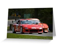 Britcar Racing Greeting Card