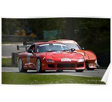 Britcar Racing Poster